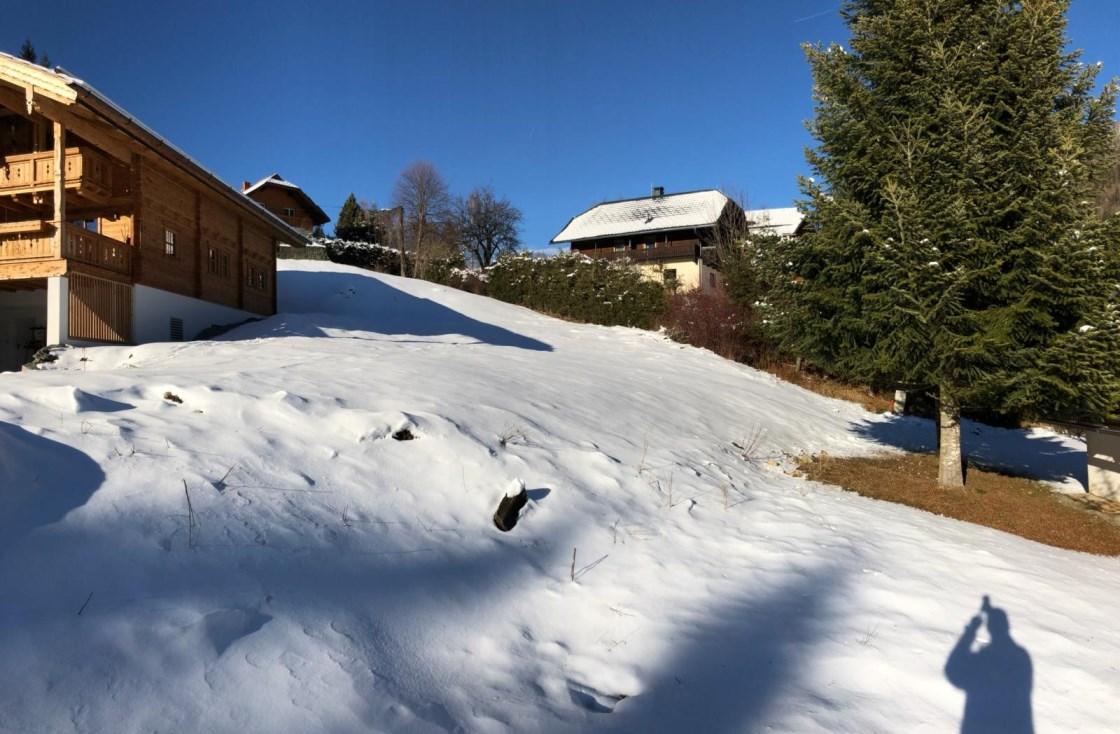 Bad Kleinkirchheim, Ortsteil Obertschern, Baugrundstueck 600m2 an der Skipiste!!