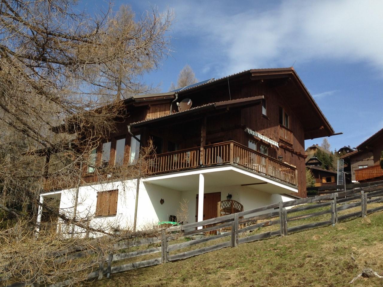 Falkert, Kaernten, Ski- und Wandergebiet, grosszuegiges BERGHAUS in Hanglage, Suedausrichtung