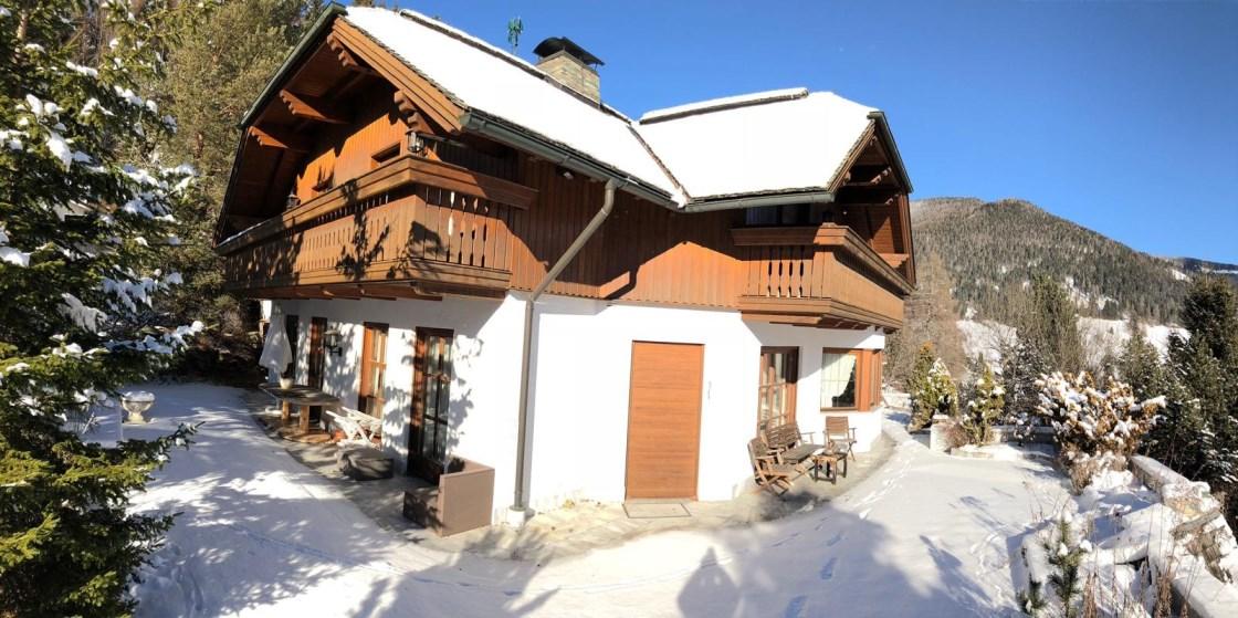 Bad Kleinkirchheim, Luxusvilla (VILLA GRANDE)  in Obertschern, Indoor Pool, Spa und Lift im Haus