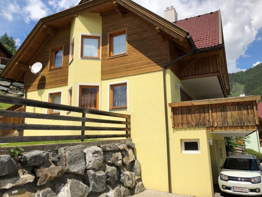 Bad Kleinkirchheim, Kaernten, schoene Wohnung (WEISS) im Ortsteil Obertschern, nahe Skipiste