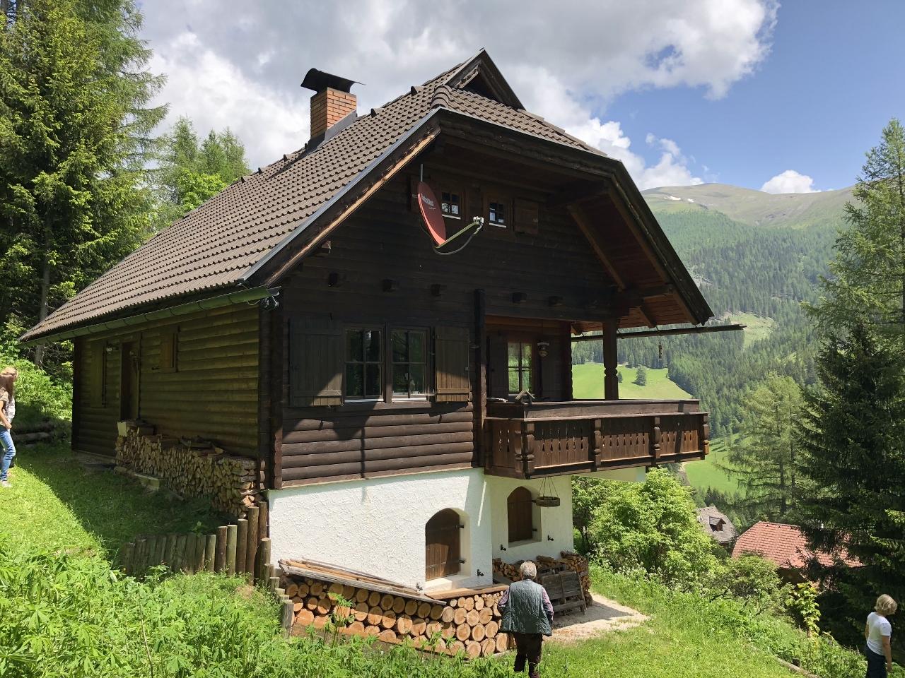 Bad Kleinkirchheim, St. Oswald, reizendes Almhaus (AML), toller Blick, nahe der Piste