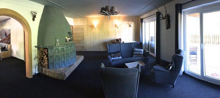 overzicht loungeruimte