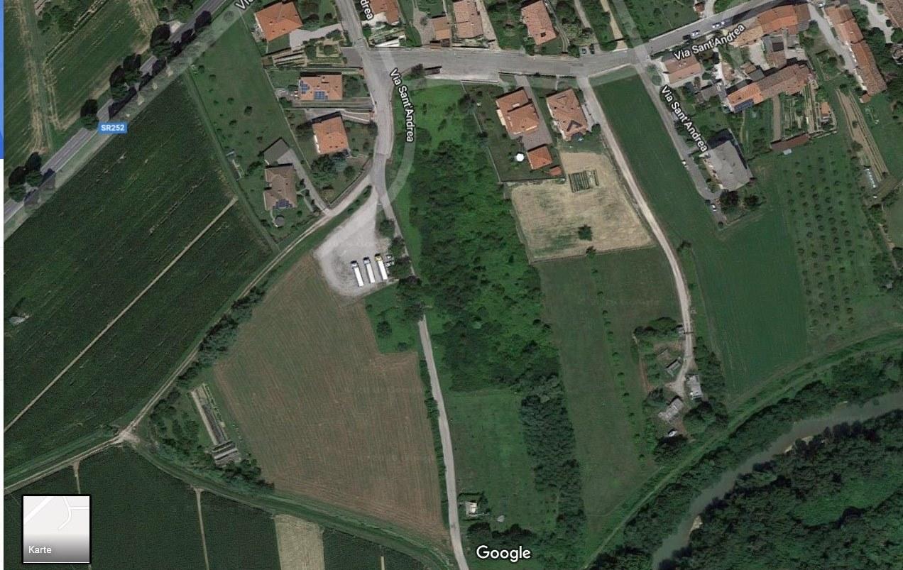 ITALIA, 34076 ROMANS d`isonzo, REGION FRIULI, Baugrundstueck von 1000m² und landwirtschaftl.  Flaeche von 5000m