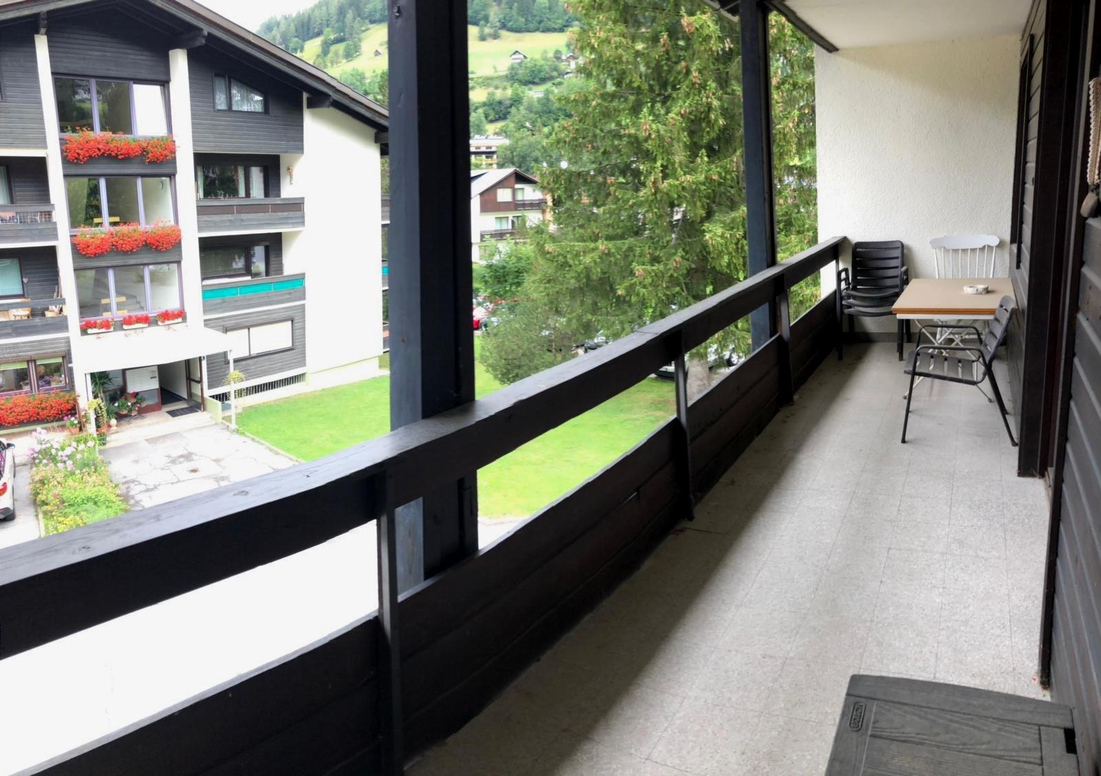 Bad Kleinkirchheim, Kaernten, Ferienwohnung (DRAGI) mit 1 Schlafzimmer und Balkon in Bach