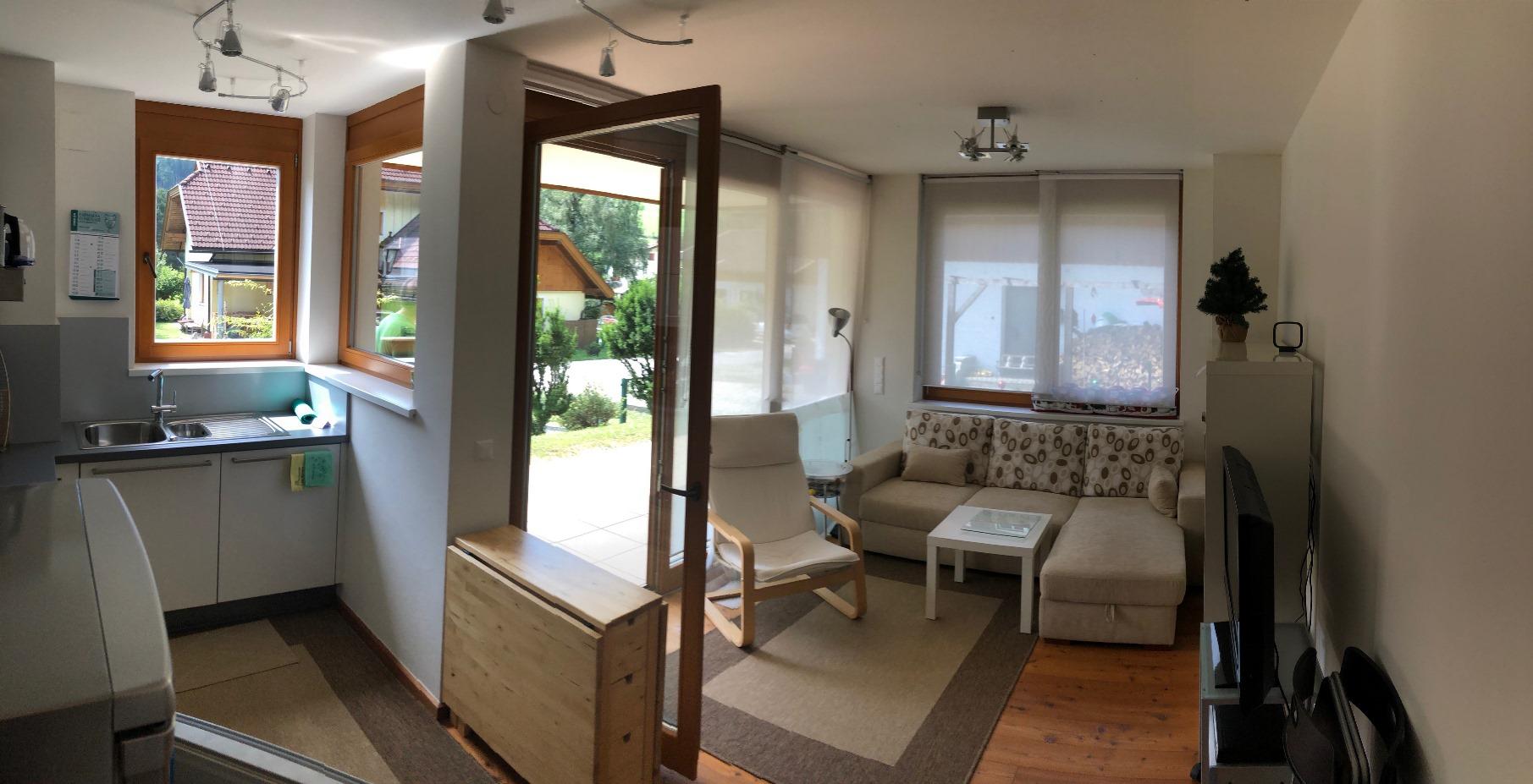 Bad Kleinkirchheim, Kaernten, Apartment (BRAHMS) in Sonnenlage, Terrasse und Garten