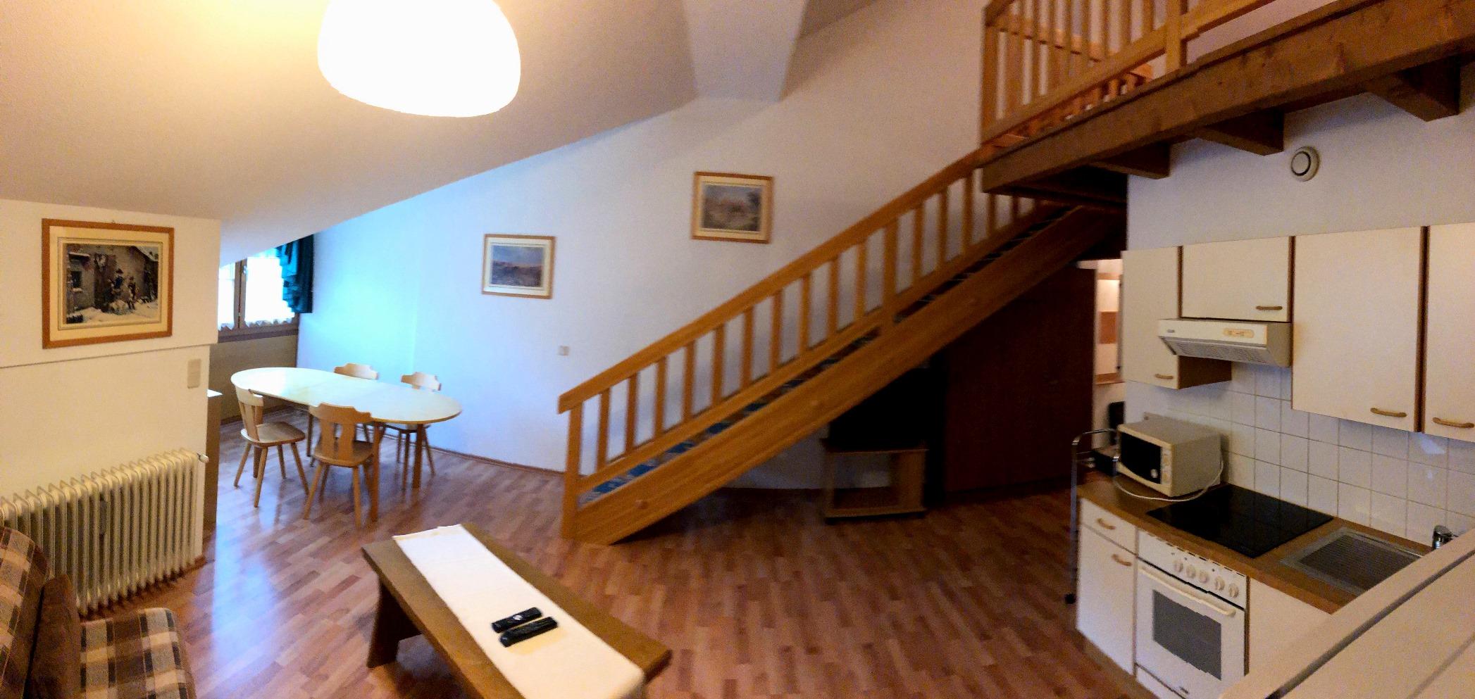 Bad Kleinkirchheim, Kaernten, Mansarde (CENTRAL) mit 2 Schlafzimmer, Garage